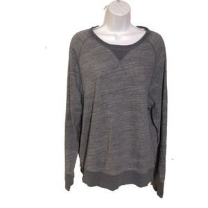 Club Monaco French Terry Gray Sweatshirt sz M